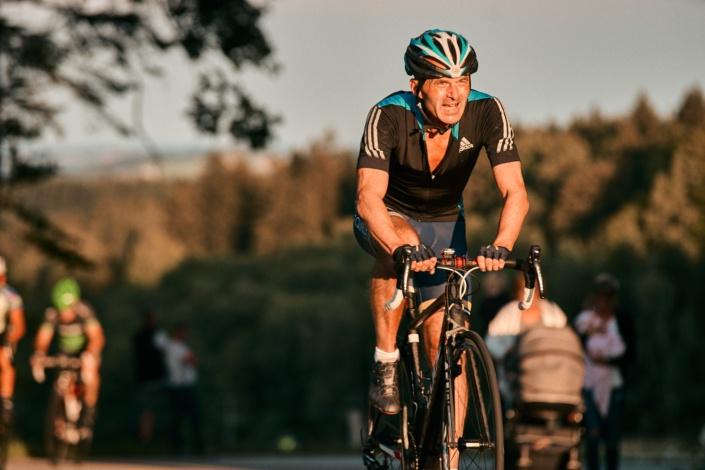 Radfahren beim Bergrennen in Stadl