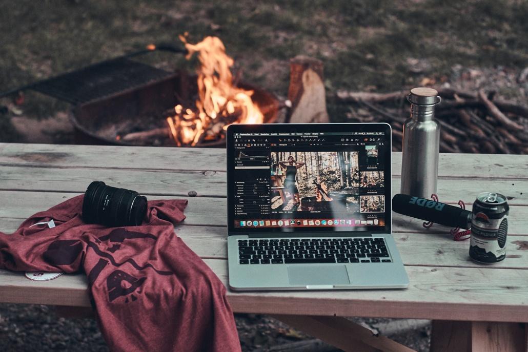 Campingplatz in Marquette auf der Upper Peninsula in Michigan
