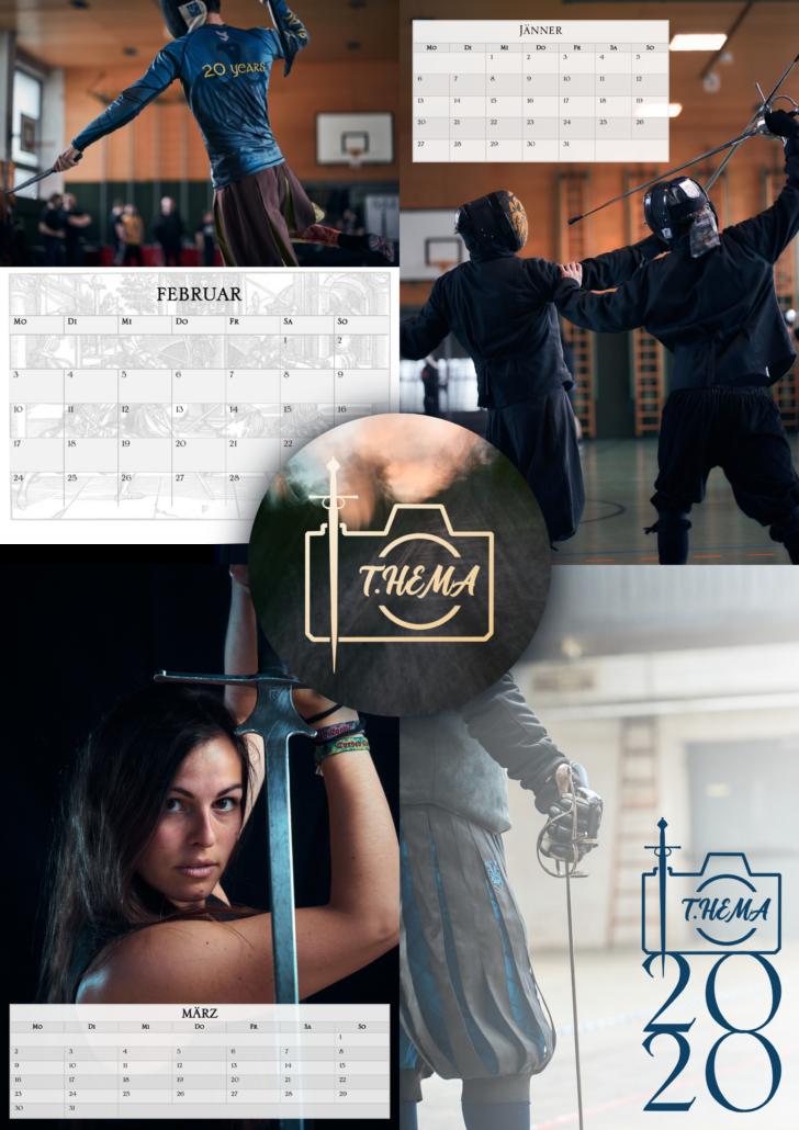 Titelbild des historischen fecht kalenders für 2020