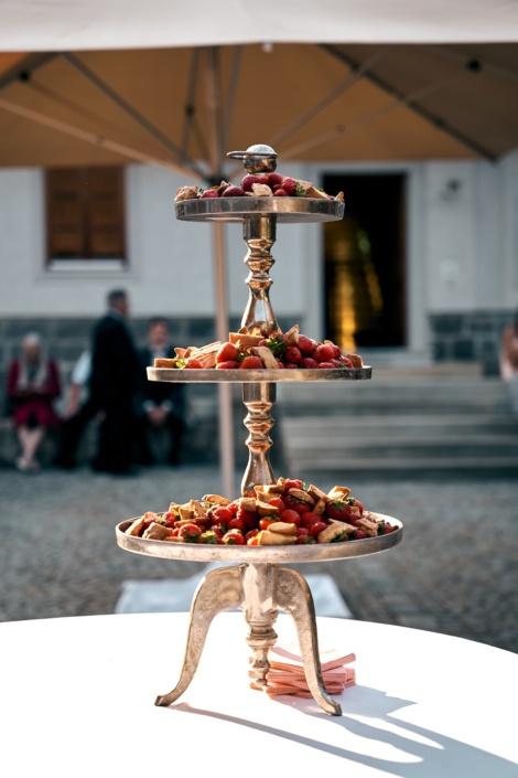 Catering für Hochzeit am Rahaberghof
